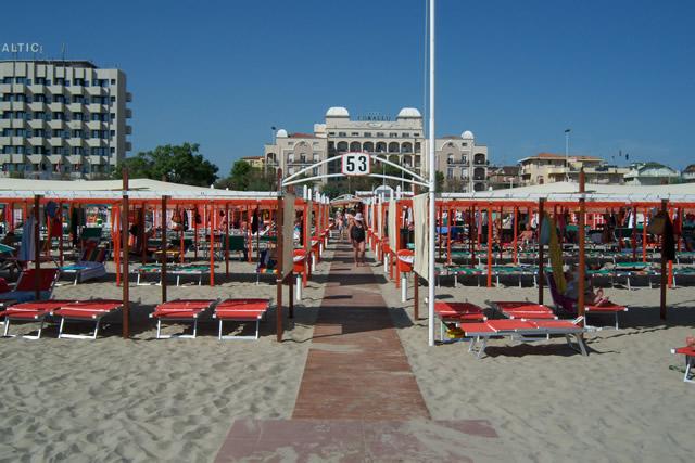 Hotel spiaggia 53 - Bagno 53 riccione ...